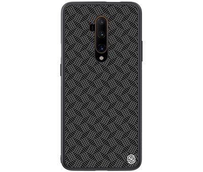 Nillkin OnePlus 7T Pro Case Carbon Fiber (Plaid) Black