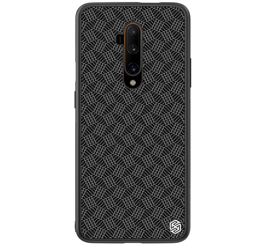 OnePlus 7T Pro Case Carbon Fiber (Plaid) Black