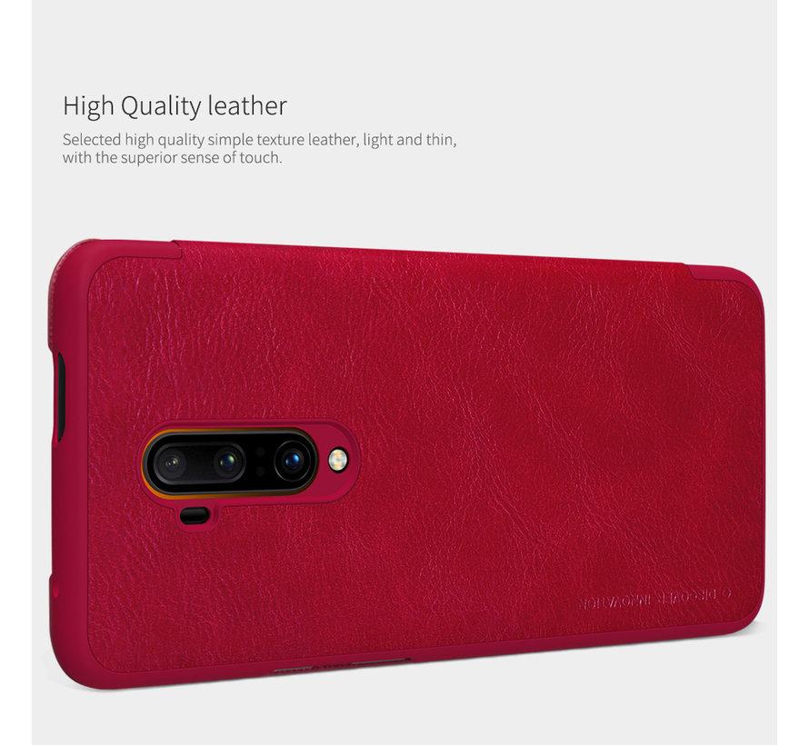 OnePlus 7T Pro Flip Case Qin Red