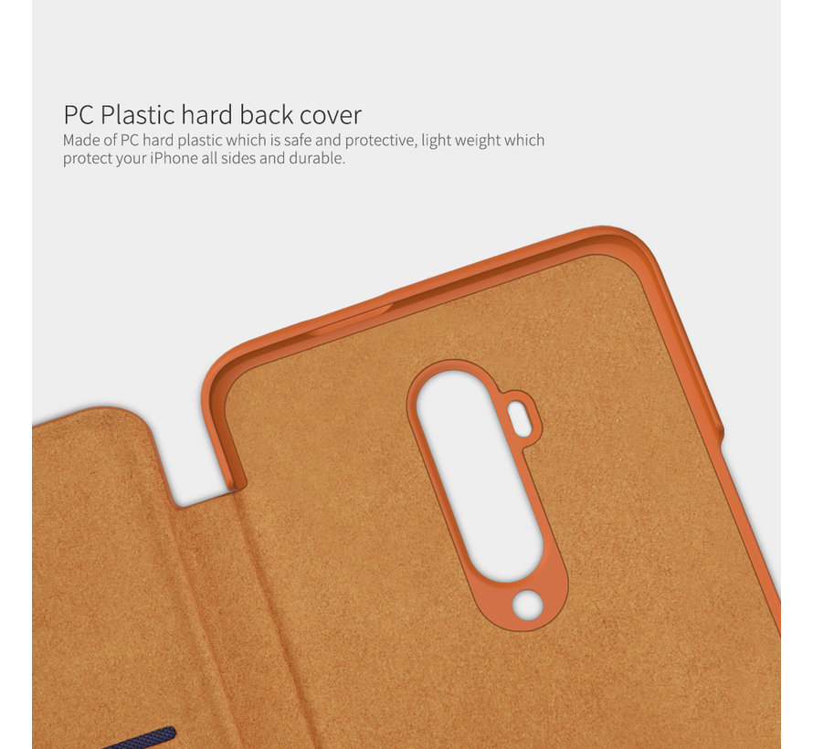 OnePlus 7T Pro Flip Case Qin Rood