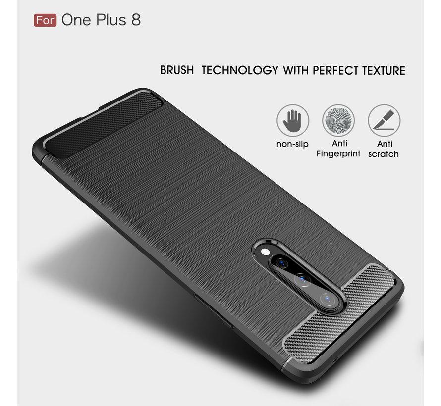 OnePlus 8 Gehäuse aus gebürstetem Ruß