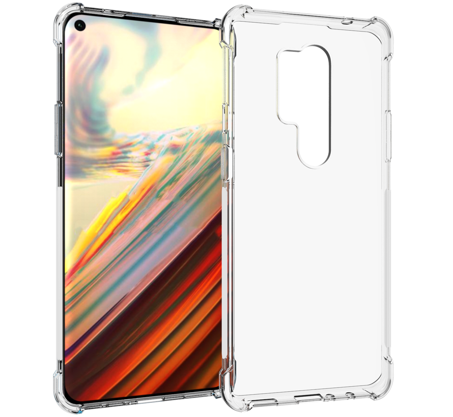 OnePlus 8 Pro Hoesje TPU Shock Proof Transparant