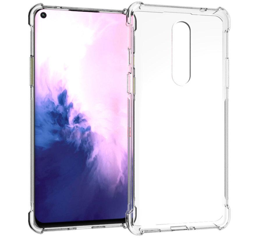 OnePlus 8 Hoesje TPU Shock Proof Transparant