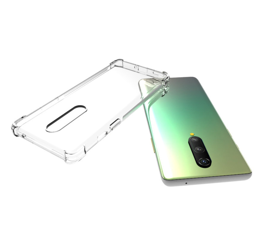 OnePlus 8 TPU Stoßfest Transparentes Gehäuse