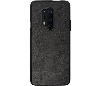 OPPRO OnePlus 8 Pro Hoesje Premium Alcantara