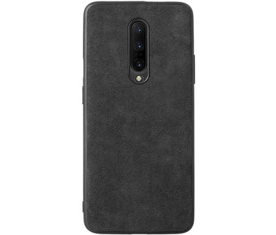 OPPRO OnePlus 8 Hoesje Premium Alcantara