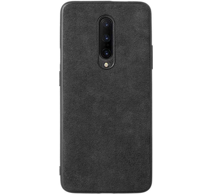OnePlus 8 Hoesje Premium Alcantara