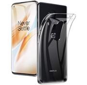 OPPRO OnePlus 8 Pro Hoesje TPU Transparant