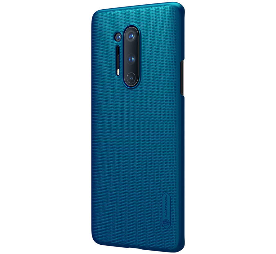 OnePlus 8 Pro Case Super Frosted Shield Peacock Blue