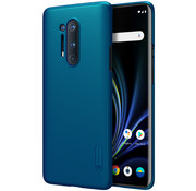Nillkin OnePlus 8 Pro Case Super Frosted Shield Peacock Blue