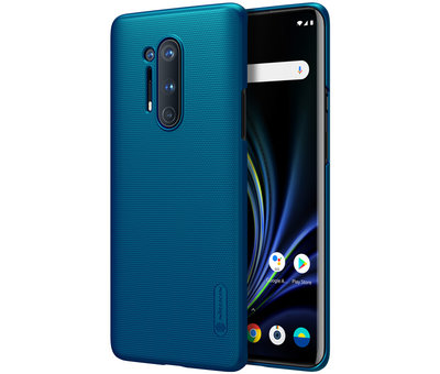 Nillkin OnePlus 8 Pro Fall Super Frosted Shield Peacock Blue