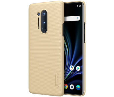 Nillkin OnePlus 8 Pro Case Super Frosted Shield Gold