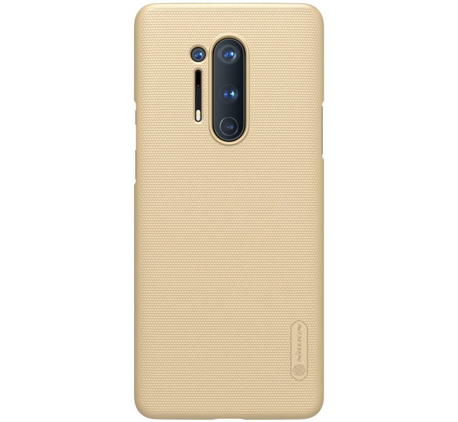 OnePlus 8 Pro Case Super Frosted Shield Gold
