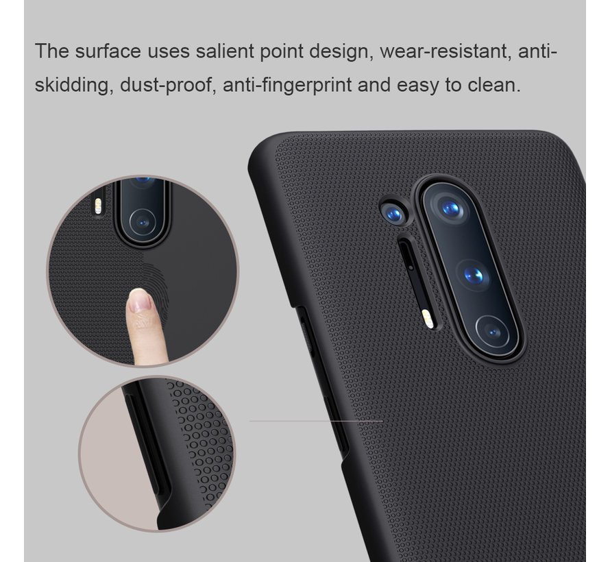 OnePlus 8 Pro Hoesje Super Frosted Shield Goud