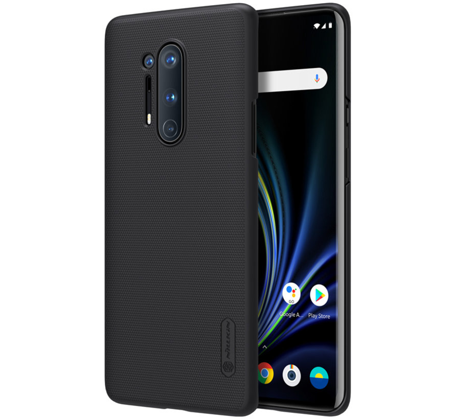 OnePlus 8 Pro Fall Super Frosted Shield Schwarz