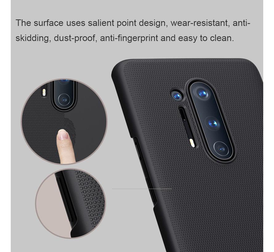 OnePlus 8 Pro Hoesje Super Frosted Shield Zwart