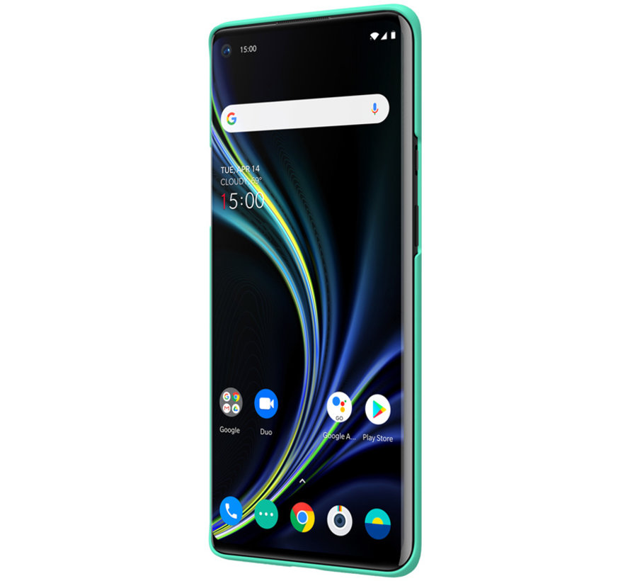 OnePlus 8 Pro Hoesje Super Frosted Shield Mintgroen