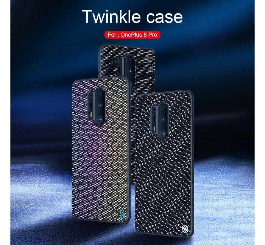 OnePlus 8 Pro Hoesje Twinkle Zilver