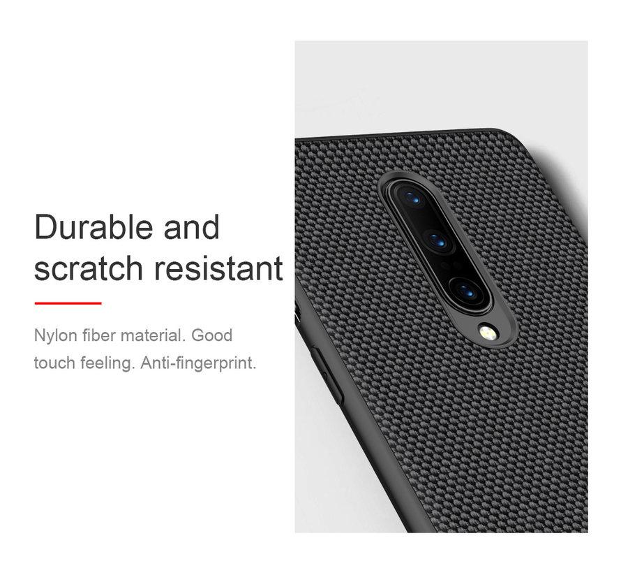 OnePlus 8 Case Nylon Schwarz