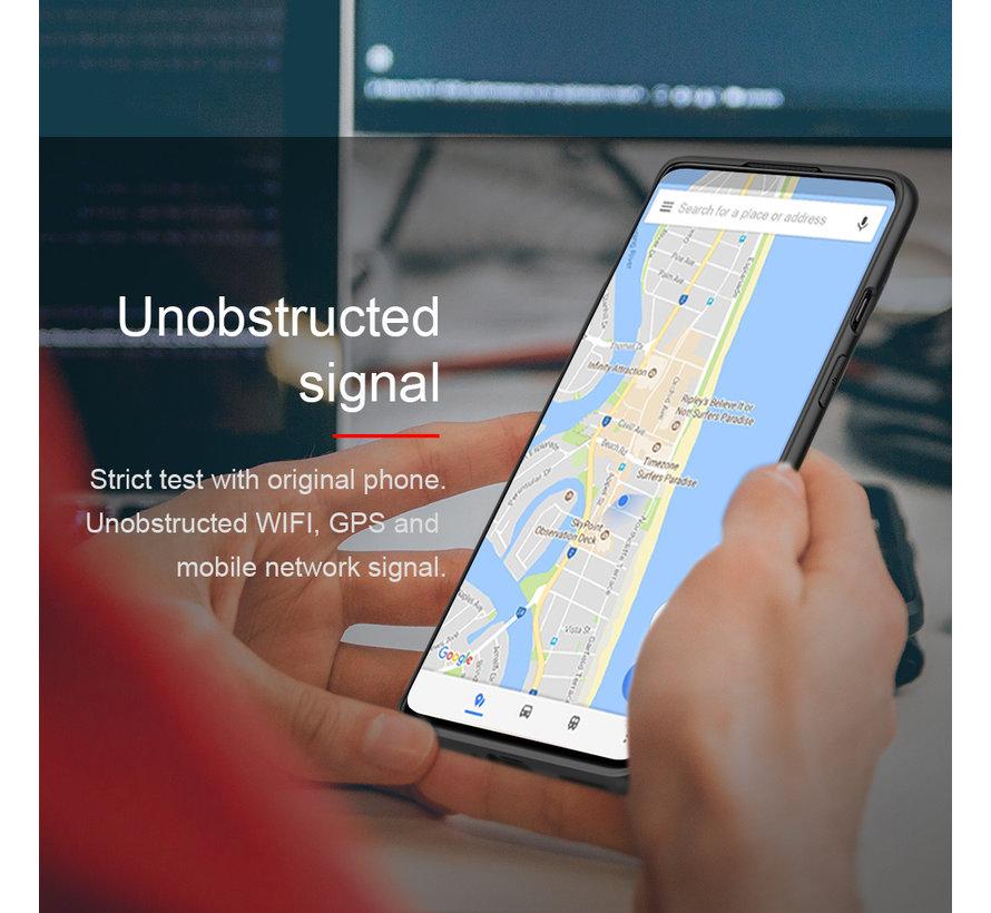 OnePlus 8 Hoesje Nylon Zwart