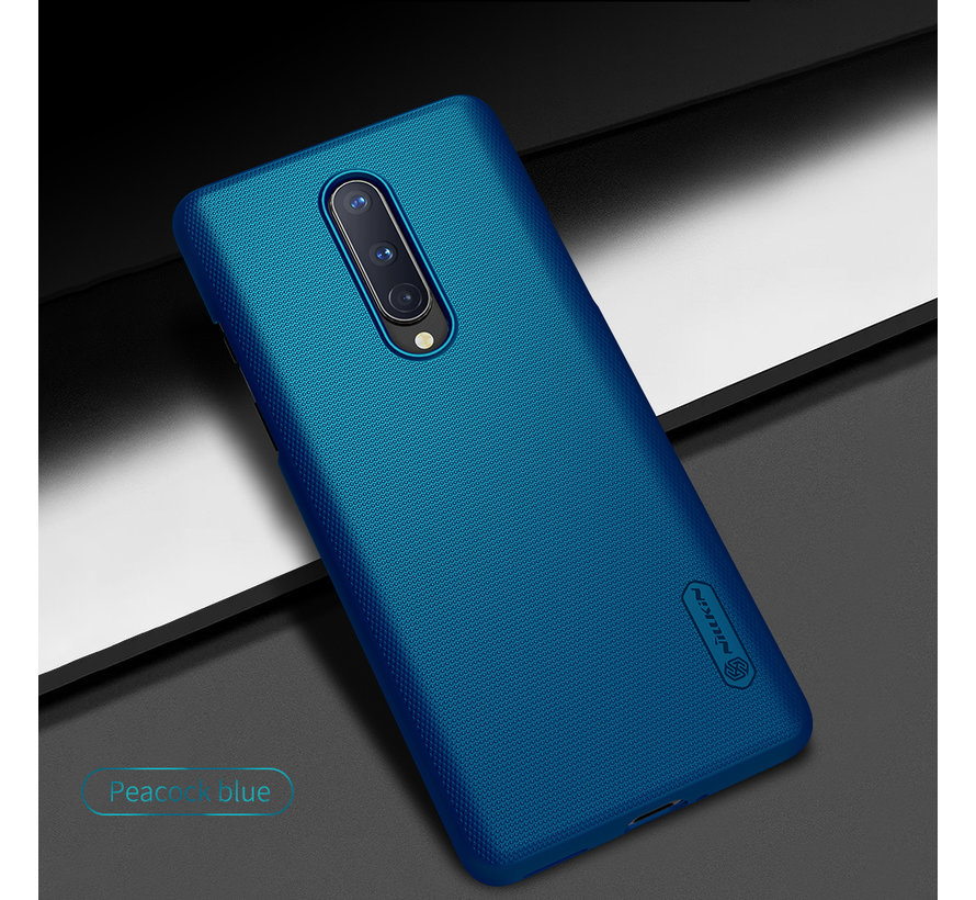 OnePlus 8 Case Super Frosted Shield Peacock Blue