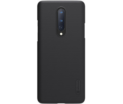 Nillkin OnePlus 8 Case Super Frosted Shield Schwarz