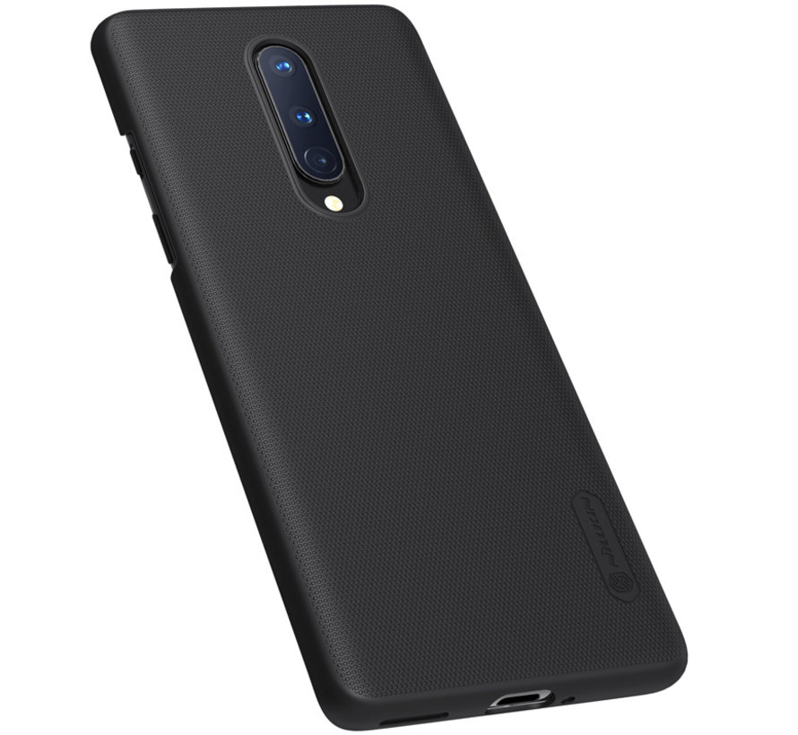 OnePlus 8 Hoesje Super Frosted Shield Zwart
