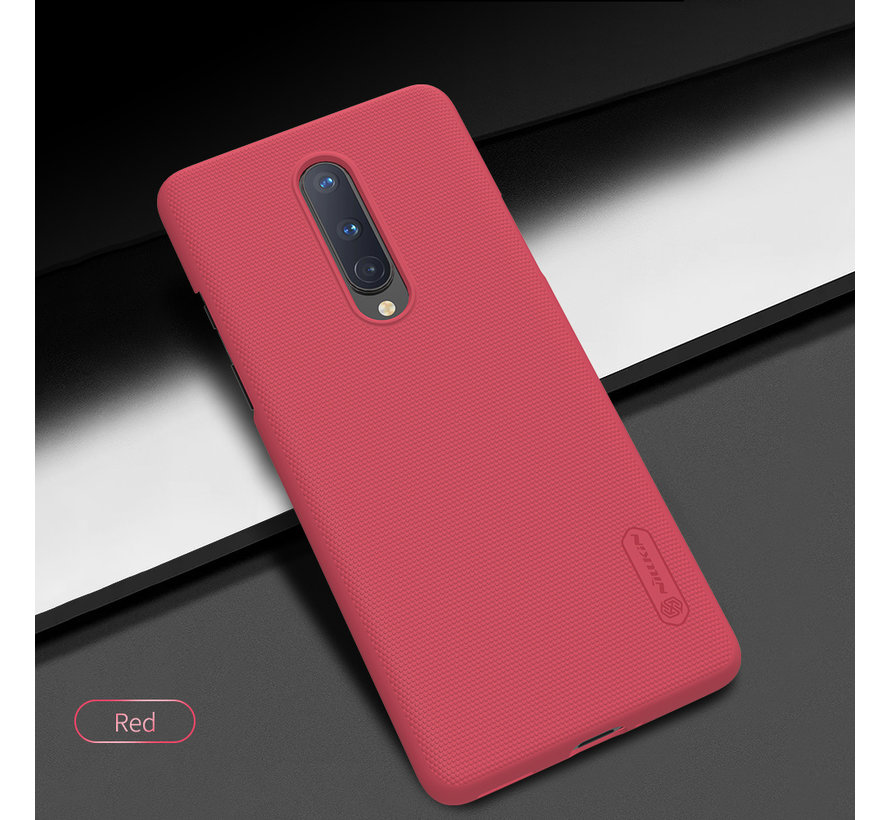 OnePlus 8 Hoesje Super Frosted Shield Rood