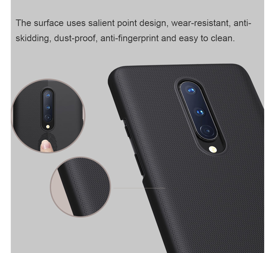 OnePlus 8 Case Super Frosted Shield Rot