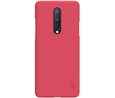 Nillkin OnePlus 8 Case Super Frosted Shield Red