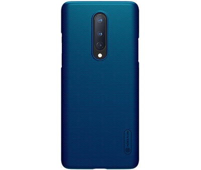 Nillkin OnePlus 8 Case Super Frosted Shield Peacock Blue