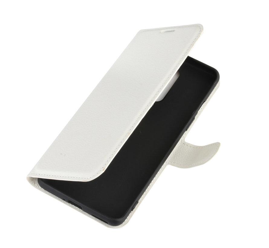 OnePlus 8 Wallet Flip Case Weiß