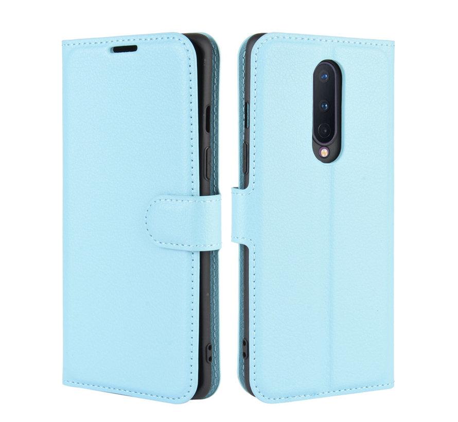 OnePlus 8 Wallet Flip Case Blau