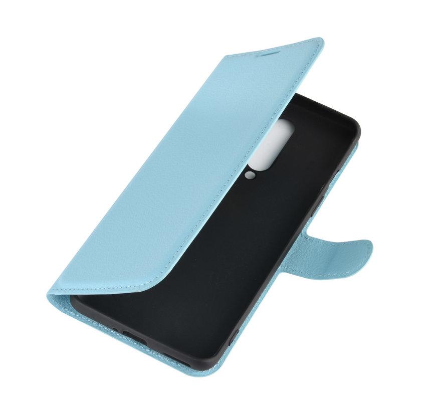 OnePlus 8 Wallet Flip Case Blauw