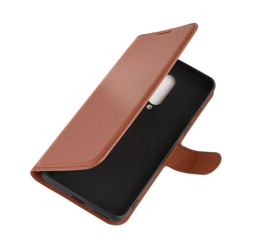 OnePlus 8 Wallet Flip Case Braun