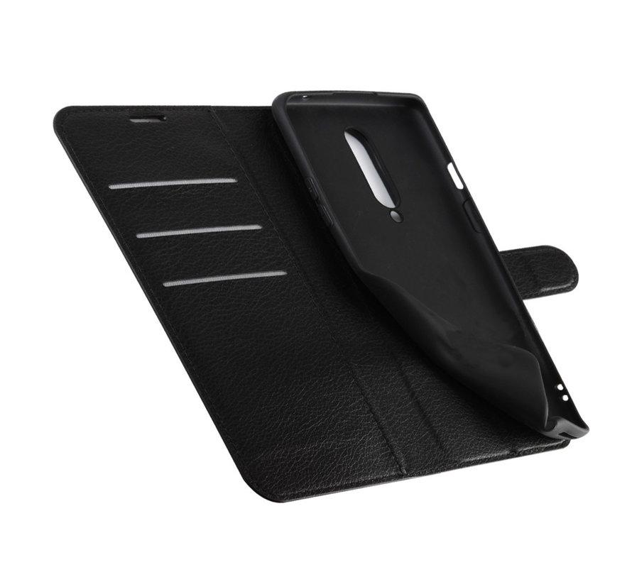 OnePlus 8 Wallet Flip Case Schwarz