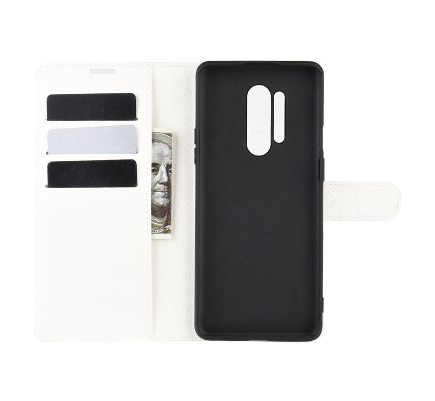 OnePlus 8 Pro Wallet Flip Case Wit