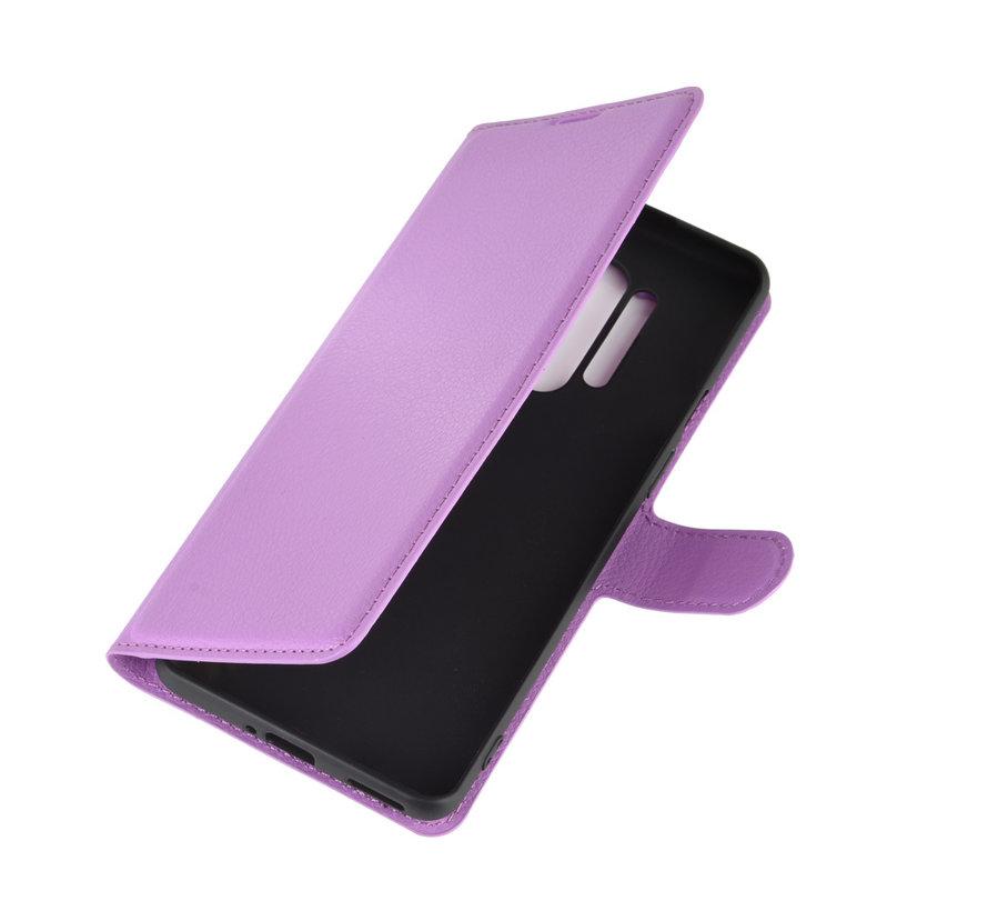 OnePlus 8 Pro Wallet Flip Case Paars