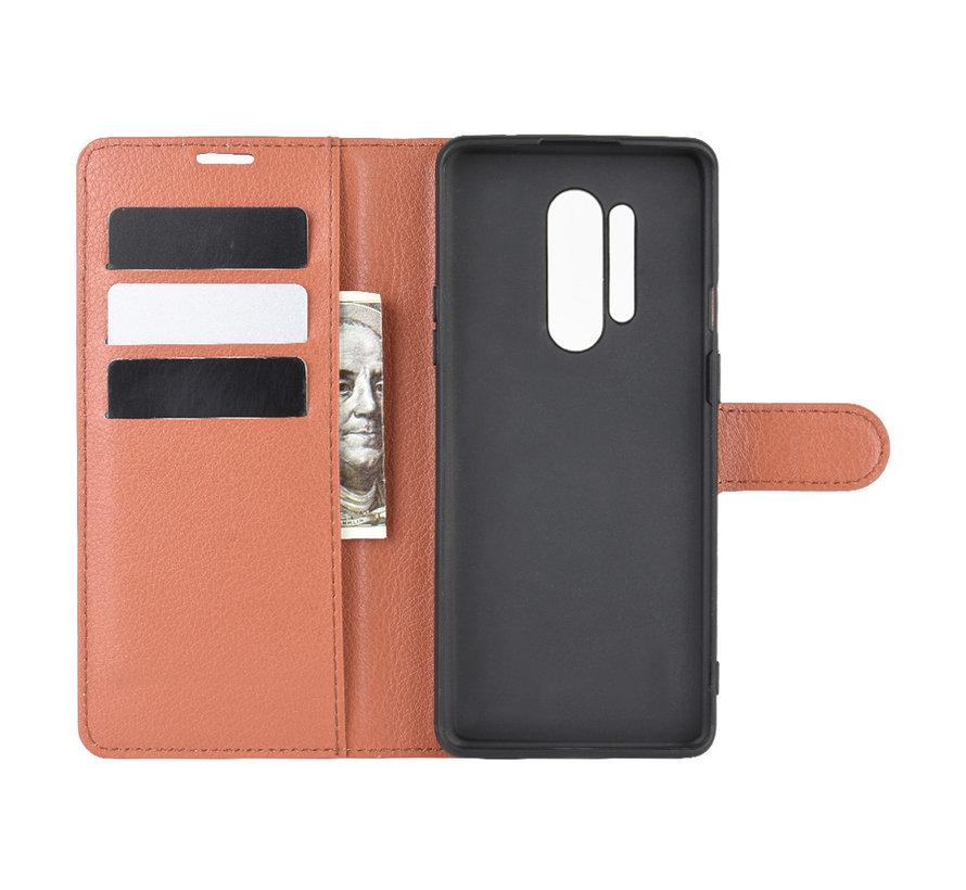 OnePlus 8 Pro Wallet Flip Case Bruin