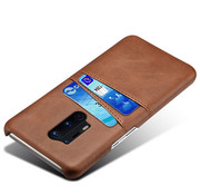 OPPRO OnePlus 8 Pro Case Slim Leather Card Holder Brown