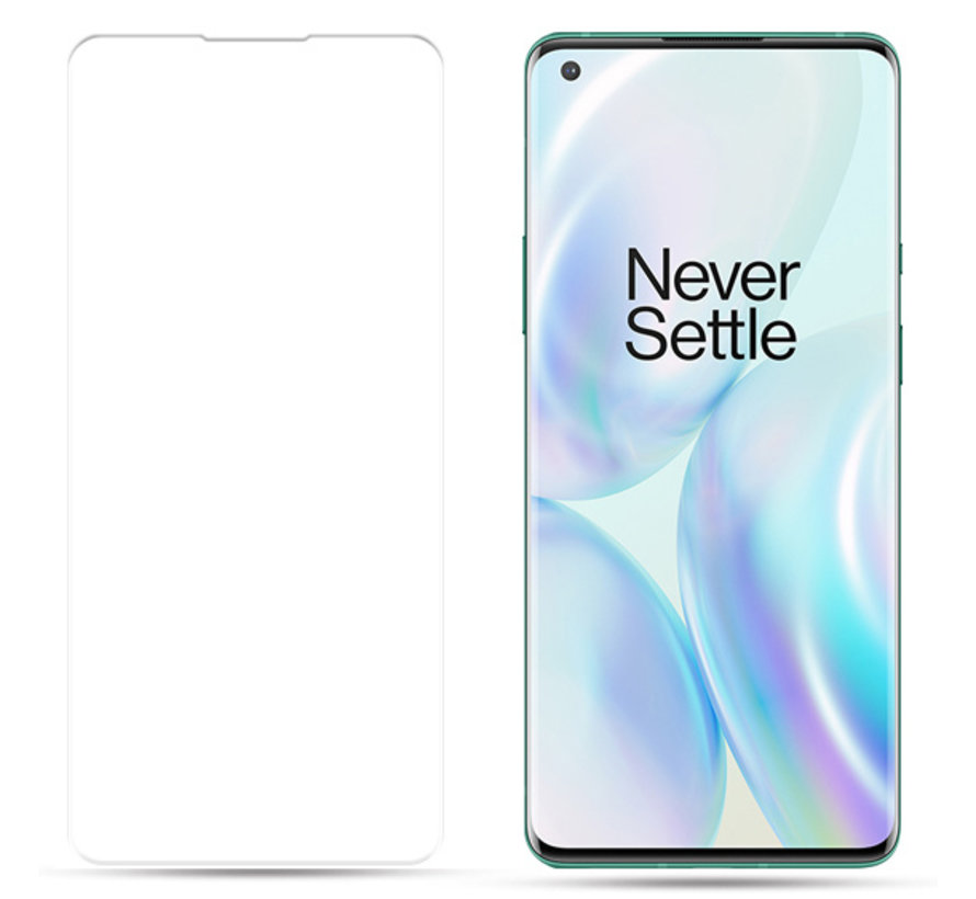 OnePlus 8 Pro 9H UV Glass Screen Protector Full Cover