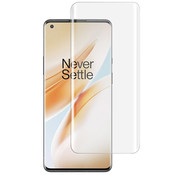 Mocolo OnePlus 8 9H UV Glass Screen Protector Full Cover