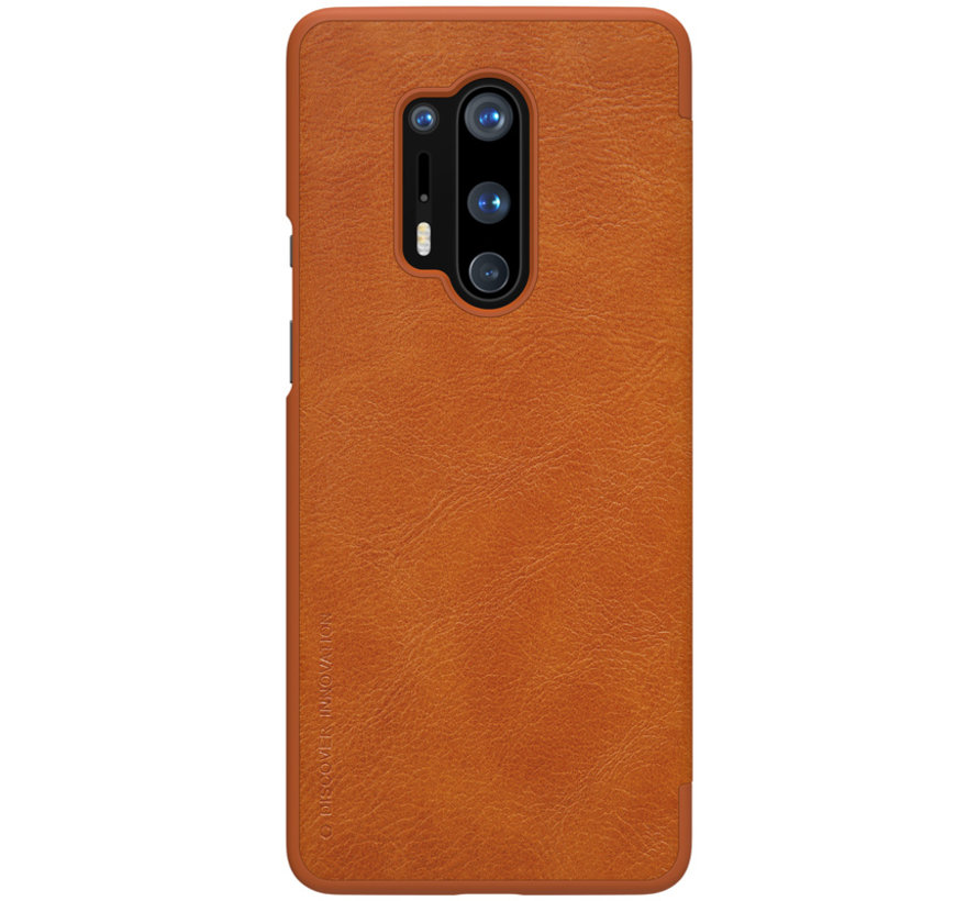 OnePlus 8 Pro Flip Fall Qin Brown