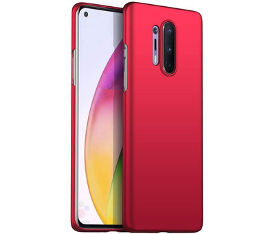 OPPRO OnePlus 8 Pro Fall Ultra Slim Grip Red