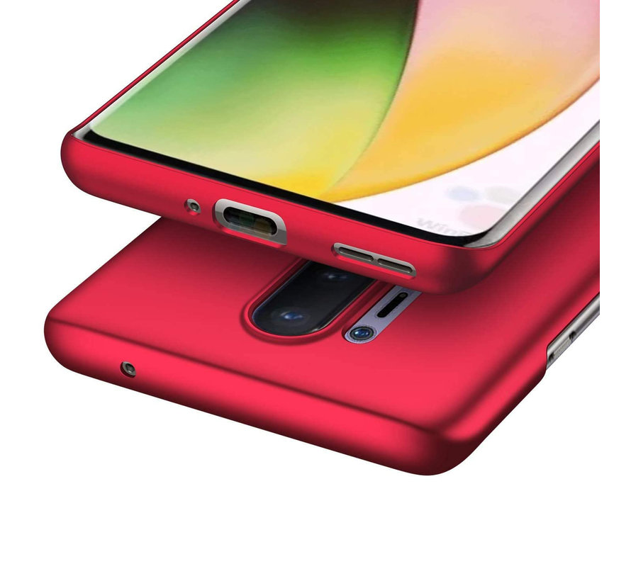 OnePlus 8 Pro Fall Ultra Slim Grip Red