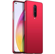 OPPRO OnePlus 8 Case Ultra Slim Grip Red