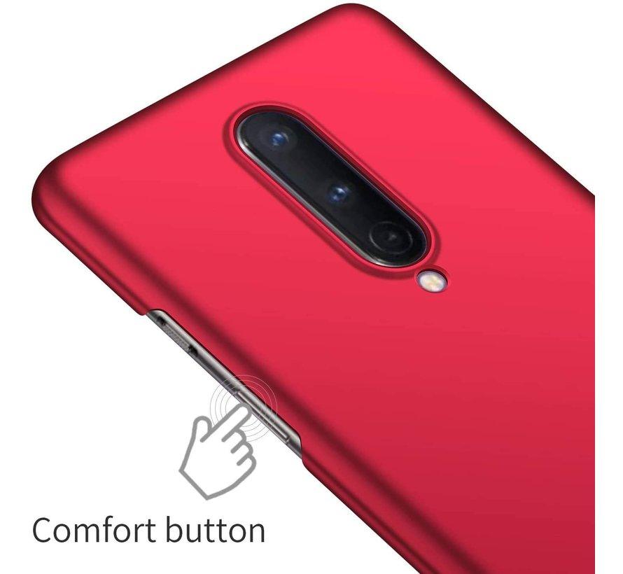 OnePlus 8 Hoesje Ultra Slim Grip Rood