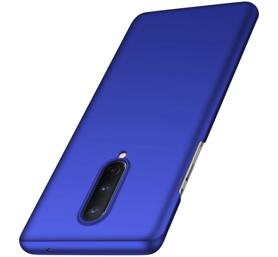 OnePlus 8 Case Ultra Slim Grip Blau