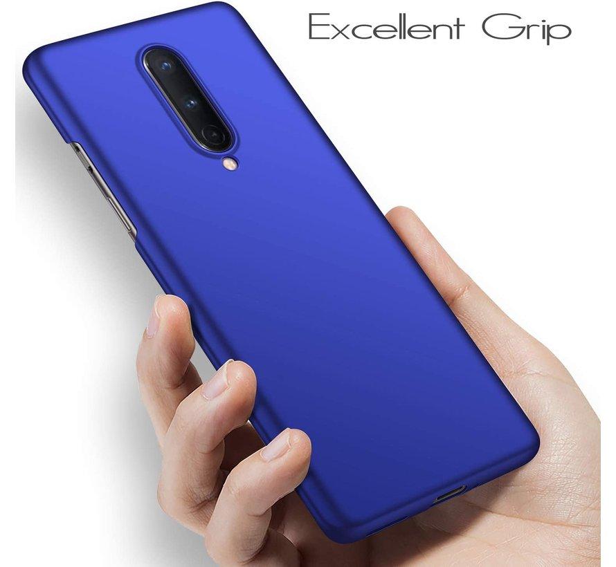 OnePlus 8 Hoesje Ultra Slim Grip Blauw
