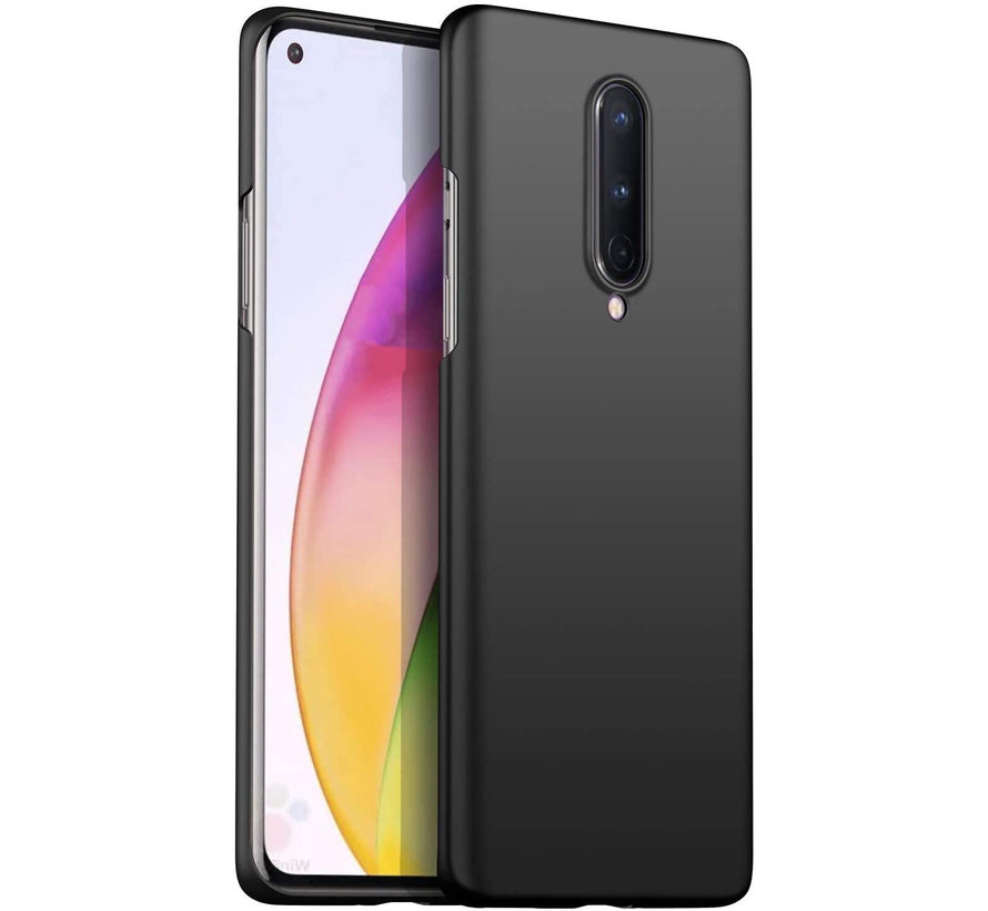 OnePlus 8 Case Ultra Slim Grip Schwarz